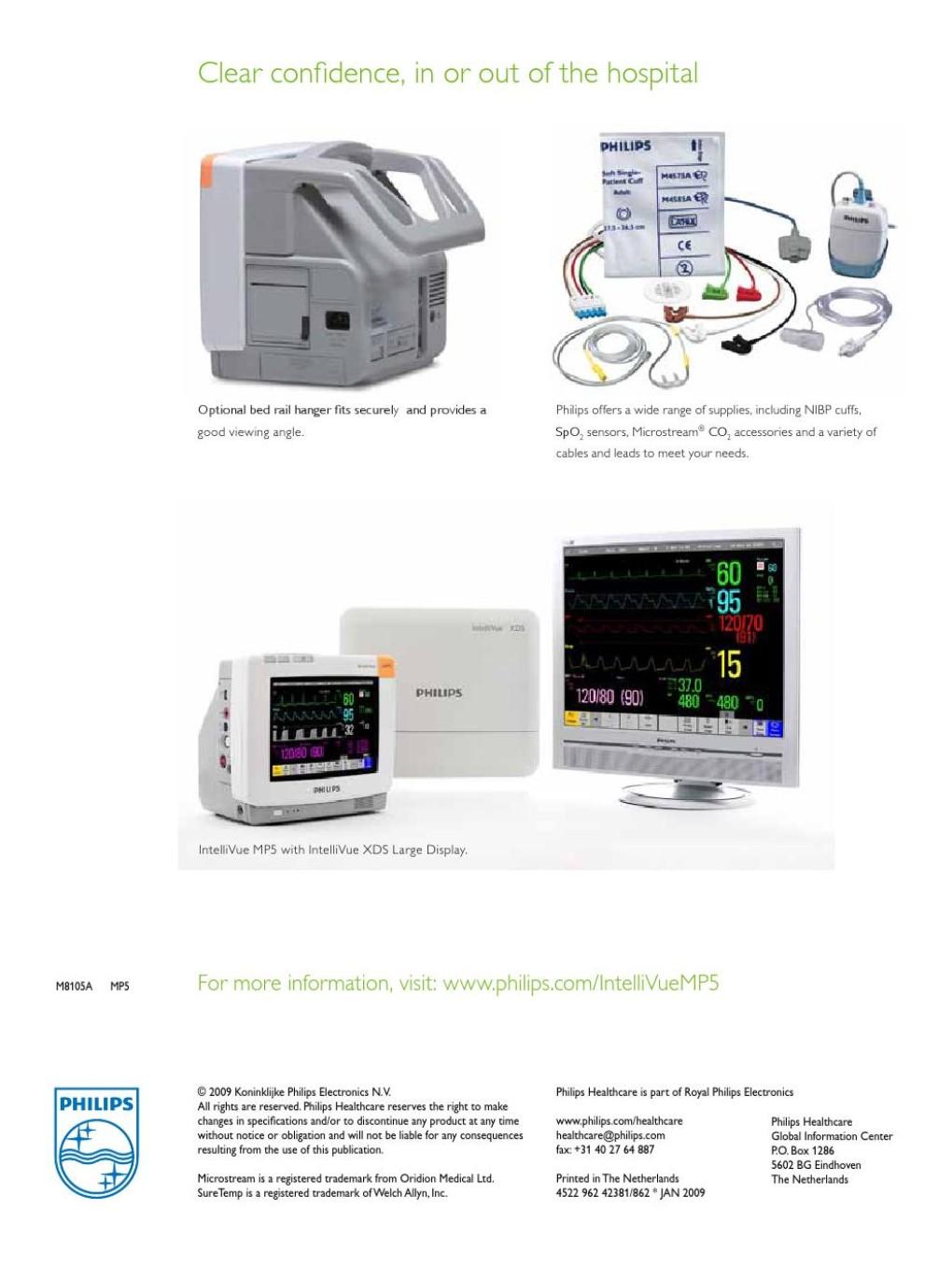MP5 - Turimed Tıbbi Cihazlar,Philips Ultrason,Philips Hastabaşı